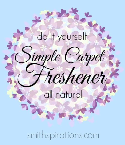 a natural do it yourself simple carpet freshener from