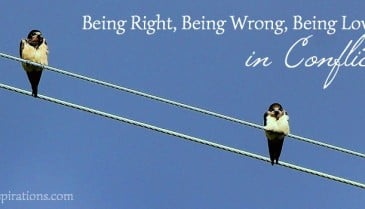 Being right, being wrong, being loving 2