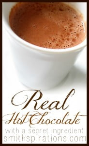 Real Hot Chocolate With a Secret Ingredient