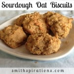 Sourdough Oat Biscuits
