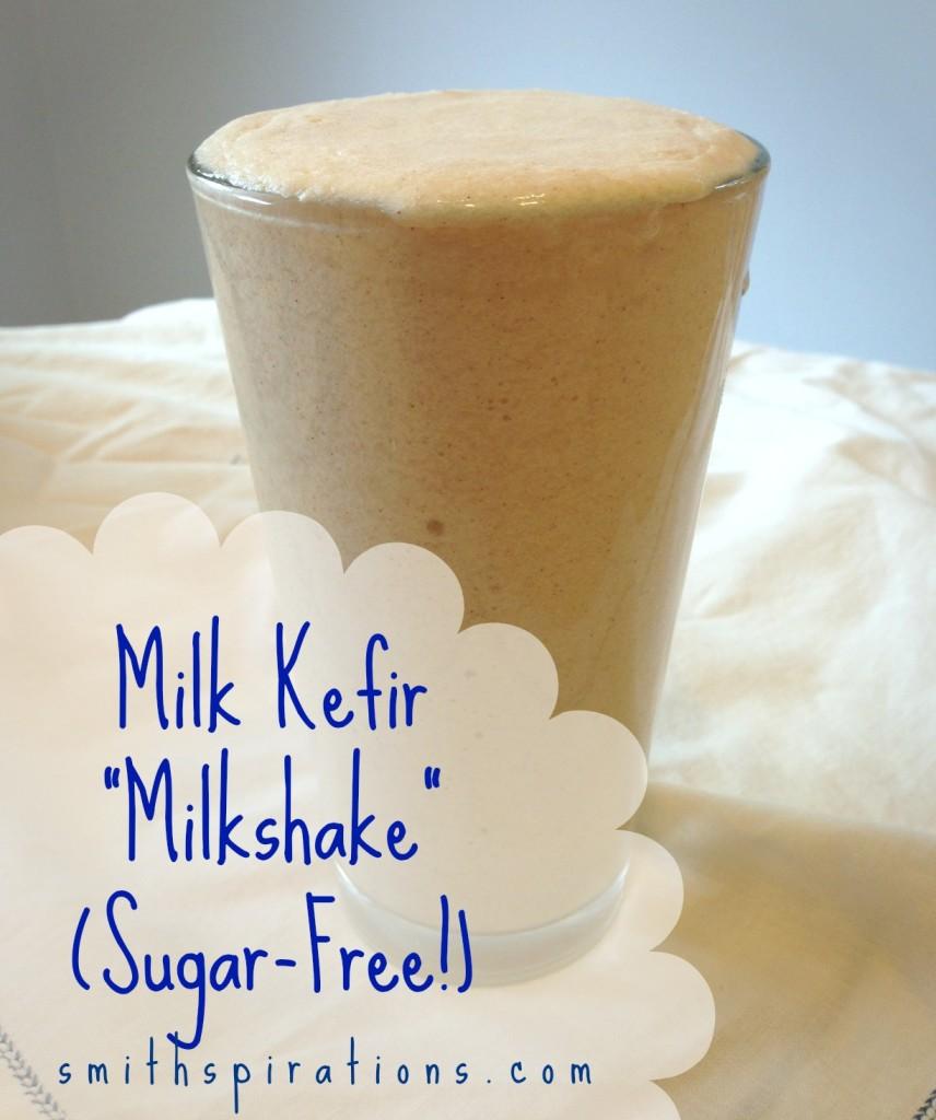 Try a milk kefir milkshake for a sugar-free candida diet smoothie or sweet treat