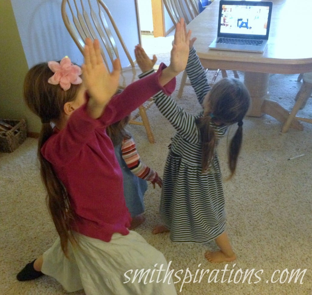 Fit2Be Studios Workouts for Children
