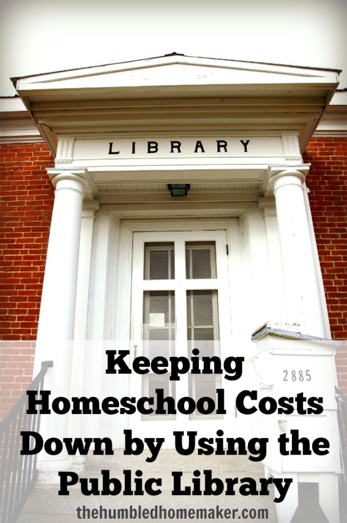 Keeping Homeschool Costs Down by Using the Public Library