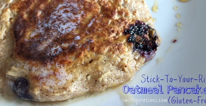 Stick to your ribs oatmeal pancakes 2