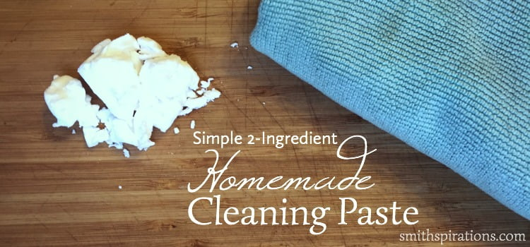 Simple 2 ingredient cleaning paste 2