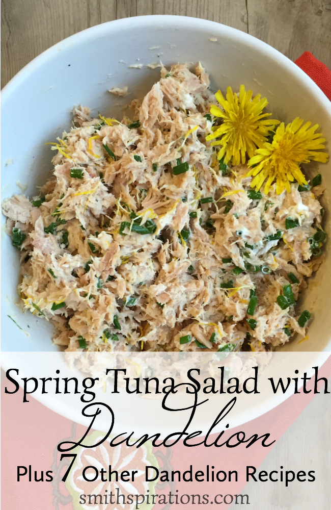 Spring Tuna Salad with Dandelion, Plus 7 Other Dandelion Recipes