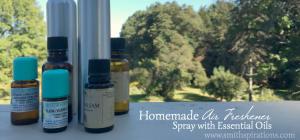 Homemade Air Freshener Spray with Essential Oils
