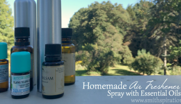 Homemade Air Freshener Spray with Essential Oils 2