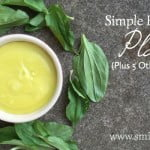 Simple First-Aid Salve with Plantain (Plus 5 Other Plantain Recipes)
