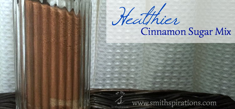 Healthier Cinnamon Sugar Mix