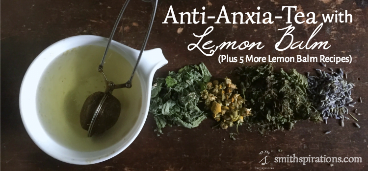 how to make lemon balm tea