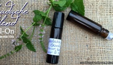 Headache Blend Roll-On with Essential Oils 1