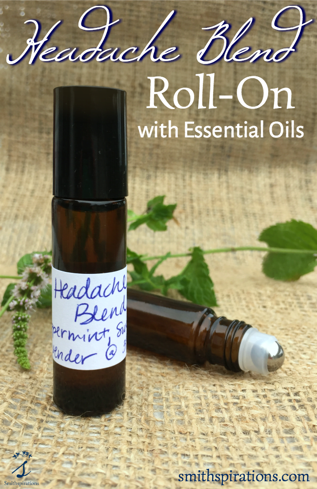 Headache Blend Roll-On with Essential Oils