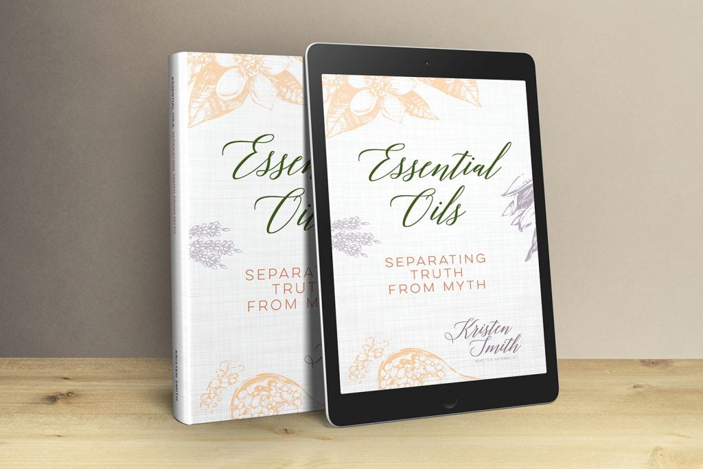 Essential Oils Separating Truth from Myth books on shelf