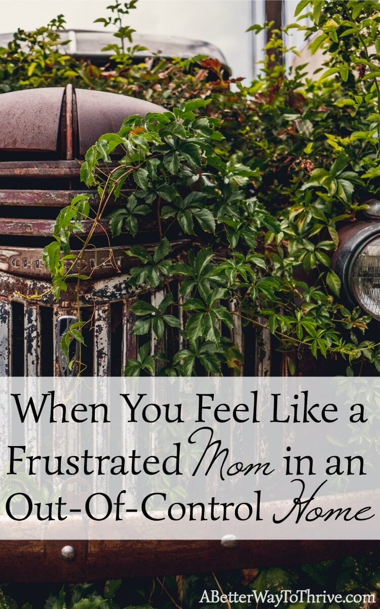 When your home feels out-of-control, you feel frustrated. But what if the answer to your frustration has nothing to do with the perfect plan or routine? via @abttrway2thrive