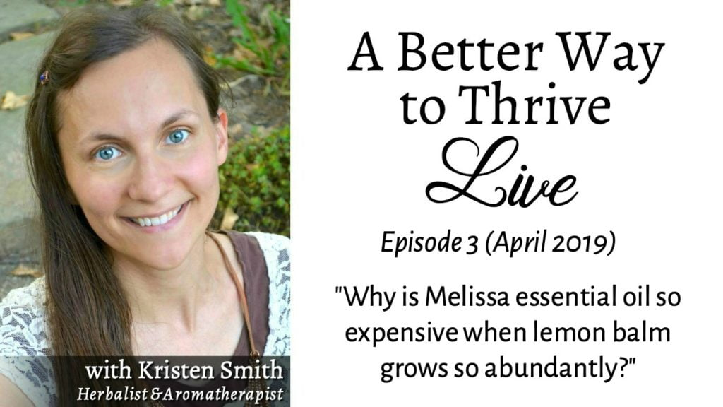 In this replay of ABWTT Live, Ep 3, you can learn about 3 factors that influence essential oil pricing