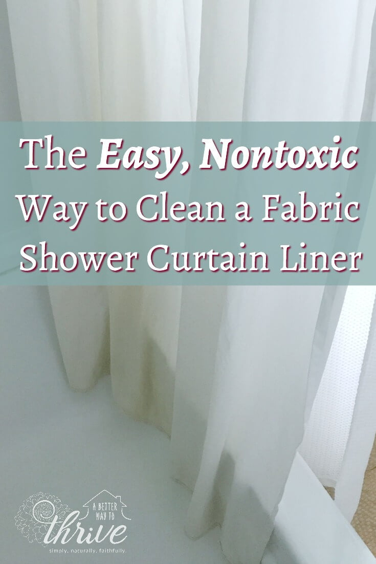 fabric shower curtain liners can be hard to keep clean they can get coated in
