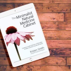 The Minimalist Natural Medicine Cabinet eBook