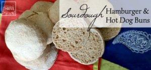 How to Make Whole Grain Sourdough Hamburger & Hot Dog Buns