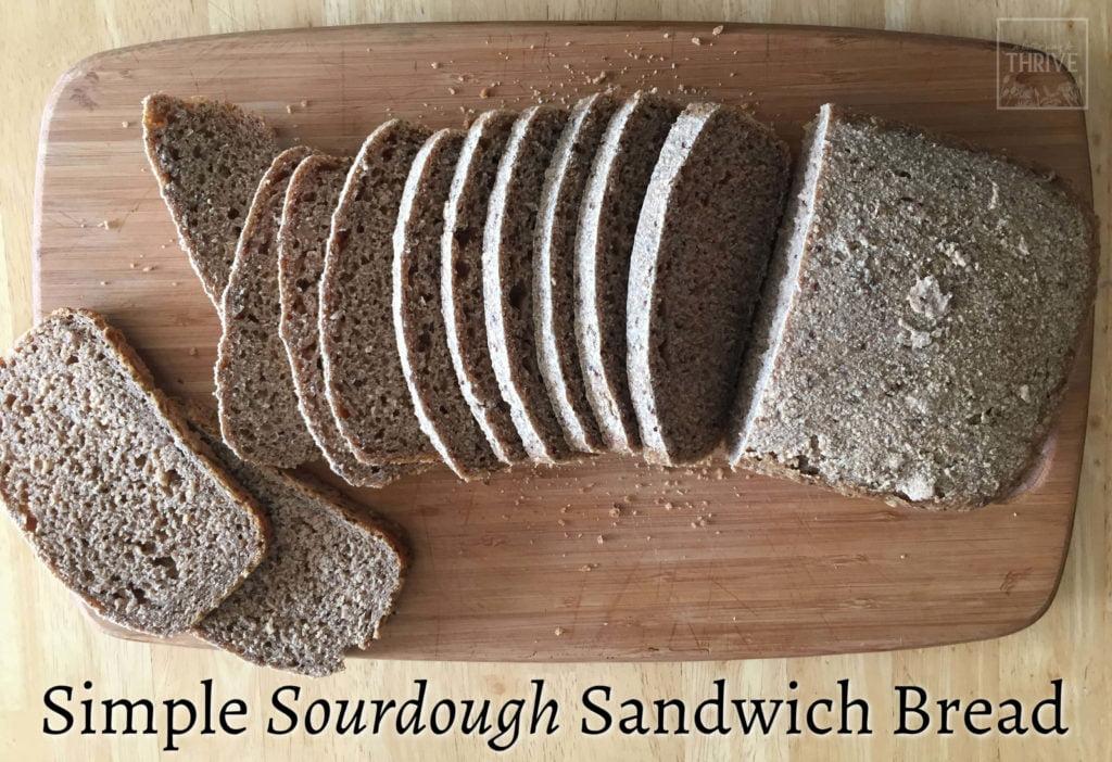 A Simple Sourdough Bread recipe