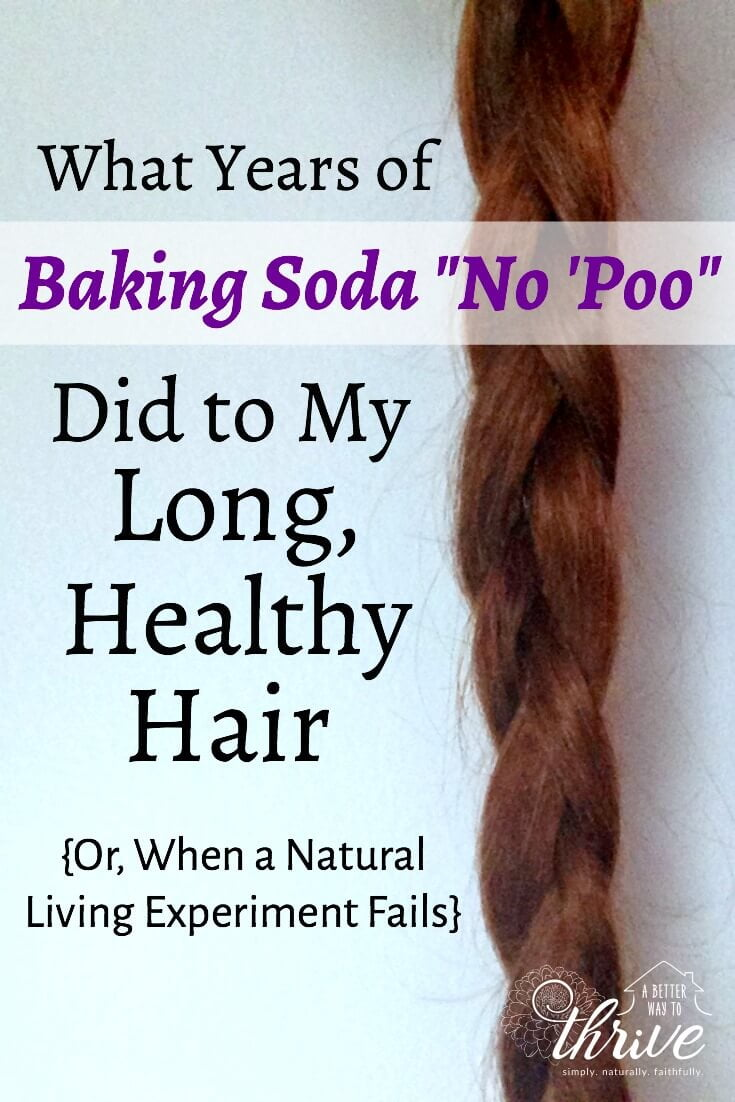 The Baking Soda No 'poo Hair Care Routine Seems Like A Natural, Frugal Way