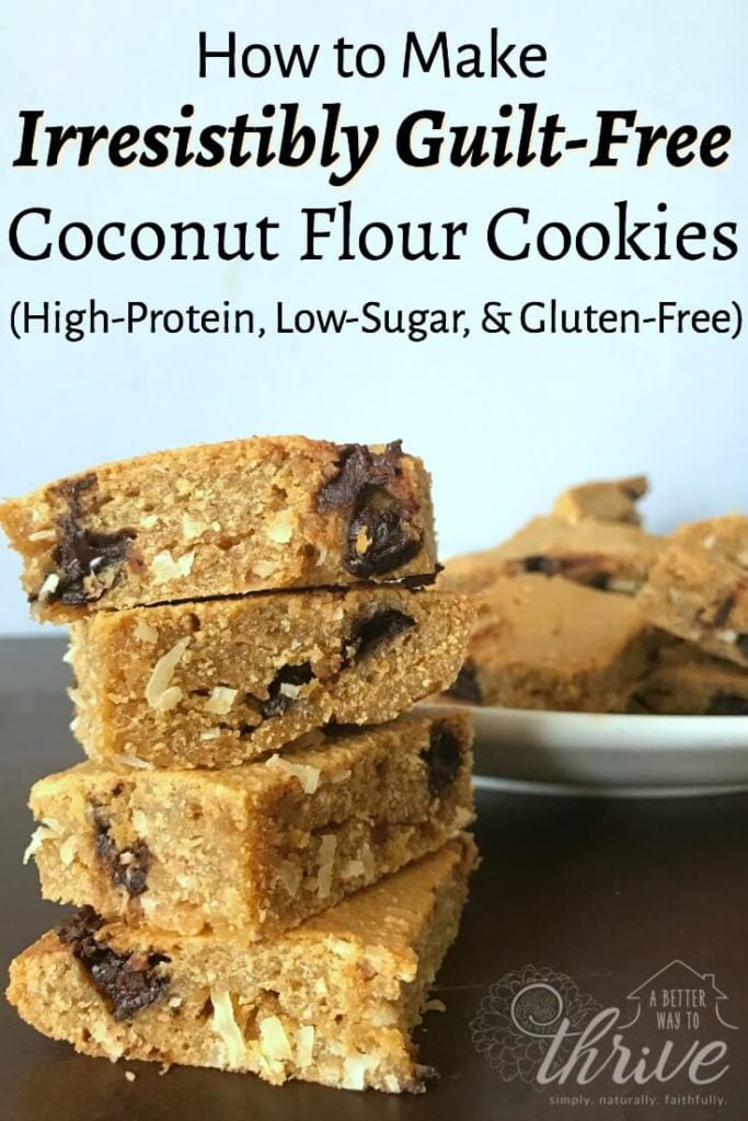 Learn how to make these irresistibly guilt-free coconut flour cookies that are so good, you can even eat them for breakfast!