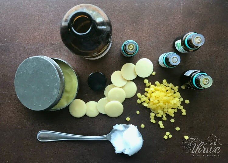 homemade solid insect repellent with ingredients